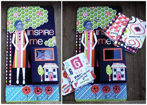 Inspire Me - mini box wall deco and cards